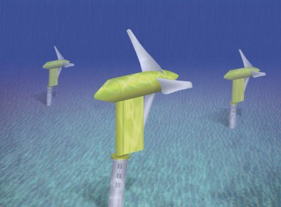 Verdant Power turbines