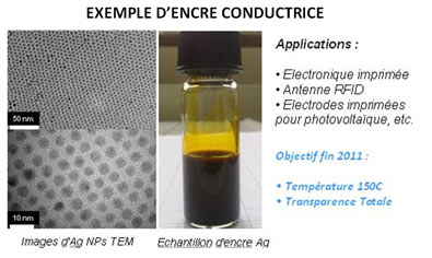 Encres conductrices : 3 pôles labellisent Genes'ink
