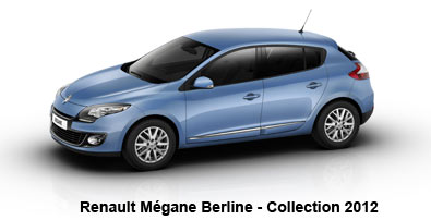 Mégane Collection 2012 : Renault fait le plein d'Energy