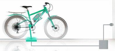 Des vélos électriques rechargés par induction à Haguenau (Bas-Rhin)