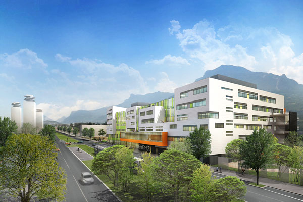 Campus GIANT de Grenoble : GreEn-ER sera à l'image de la ville de demain