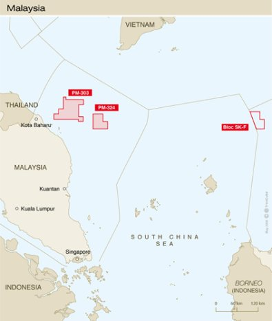Malaisie : Total entre sur deux blocs d'exploration offshore