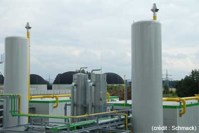E.ON inaugure son usine de biométhane - 10 MW -