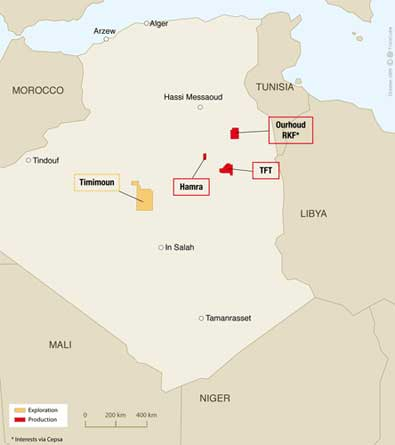 Le champ gazier de Timimoun bientôt en exploitation