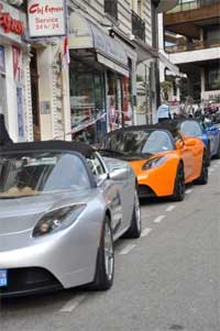 Testla motors ouvre un showroom à Monaco
