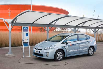 Démo Strasbourg : 100 véhicules hybrides rechargeable